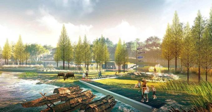 [湖北]留白简约滨水田园景观整治及生态农田修复工程设计方案(2017最新)