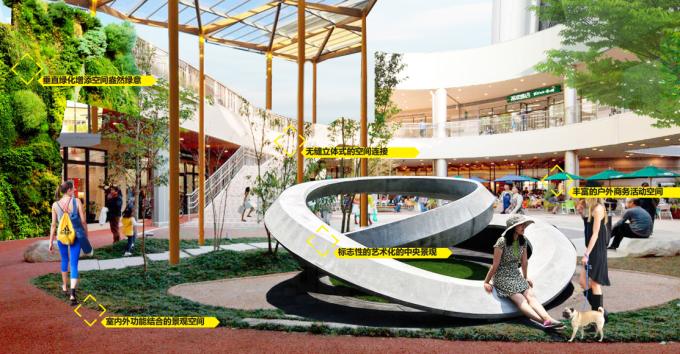 """[湖北]""""海绵城市""""汉派文化核心绿轴生态滨江商业核心区景观设计方案_7"""