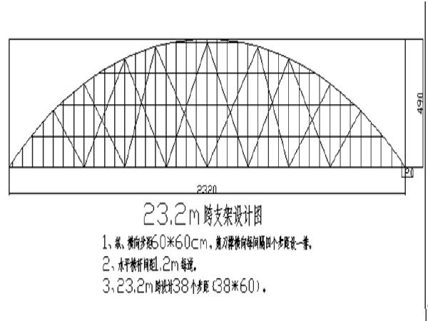 刘家湖上承式拱桥施工组织设计