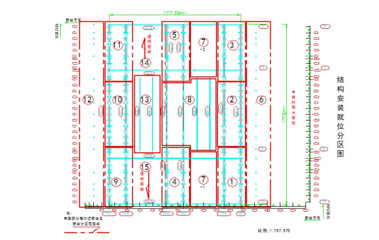 北京XXX大型图书馆钢结构提升施工方案(鲁班奖_