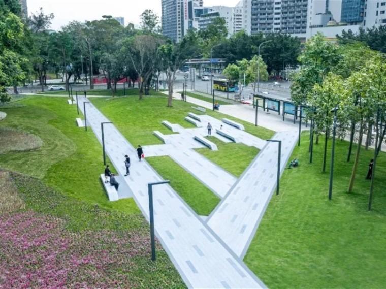 深圳罗湖区三横四纵道路沿线景观