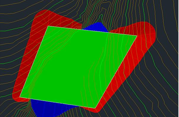 Civil3D放坡之后如何修改放坡边界线的高度?
