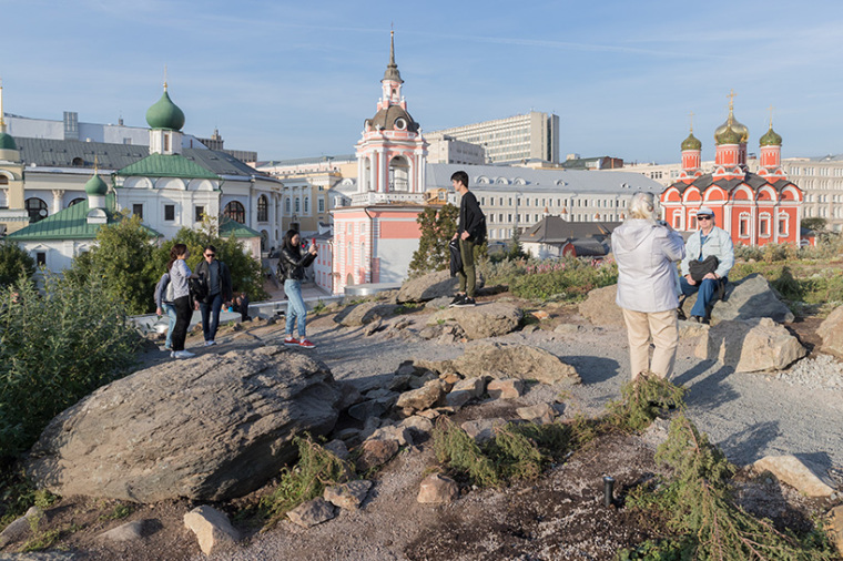 莫斯科zaryadye公园-5