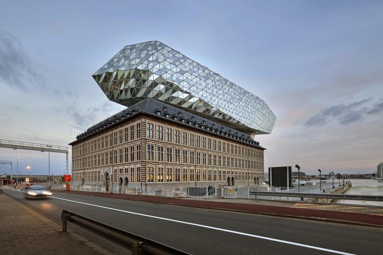 比利时安特卫普港口大楼-8