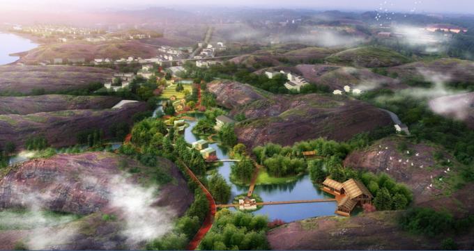 [江西]溪谷山地生态旅游度假公园景观规划设计方案(2017最新)_4