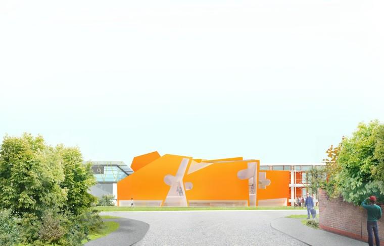 伯恩茅斯艺术大学创意中心-1