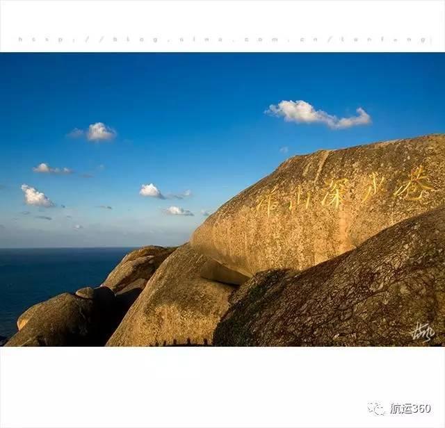 从上海洋山深水港看中国第一座外海跨海大桥——东海大桥