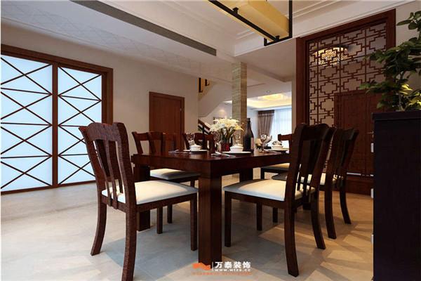 济南御龙湾装修丨万泰中式风格有不一样的雅韵