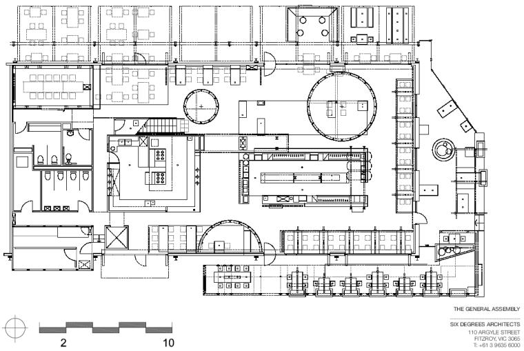 墨尔本TheGeneral河岸边的建筑-16