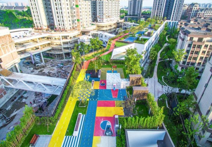 重庆龙湖U城天街景观-3