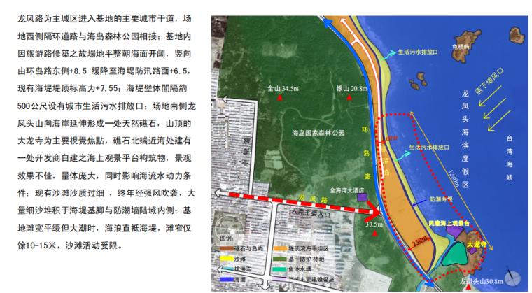 平潭龙凤头海滨浴场景观规划设计