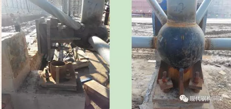 [行业资讯]大跨度煤棚焊接球网架液压顶升施工技术_19