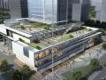 [湖北]生态屋顶绿化商业办公休闲广场景观设计方案