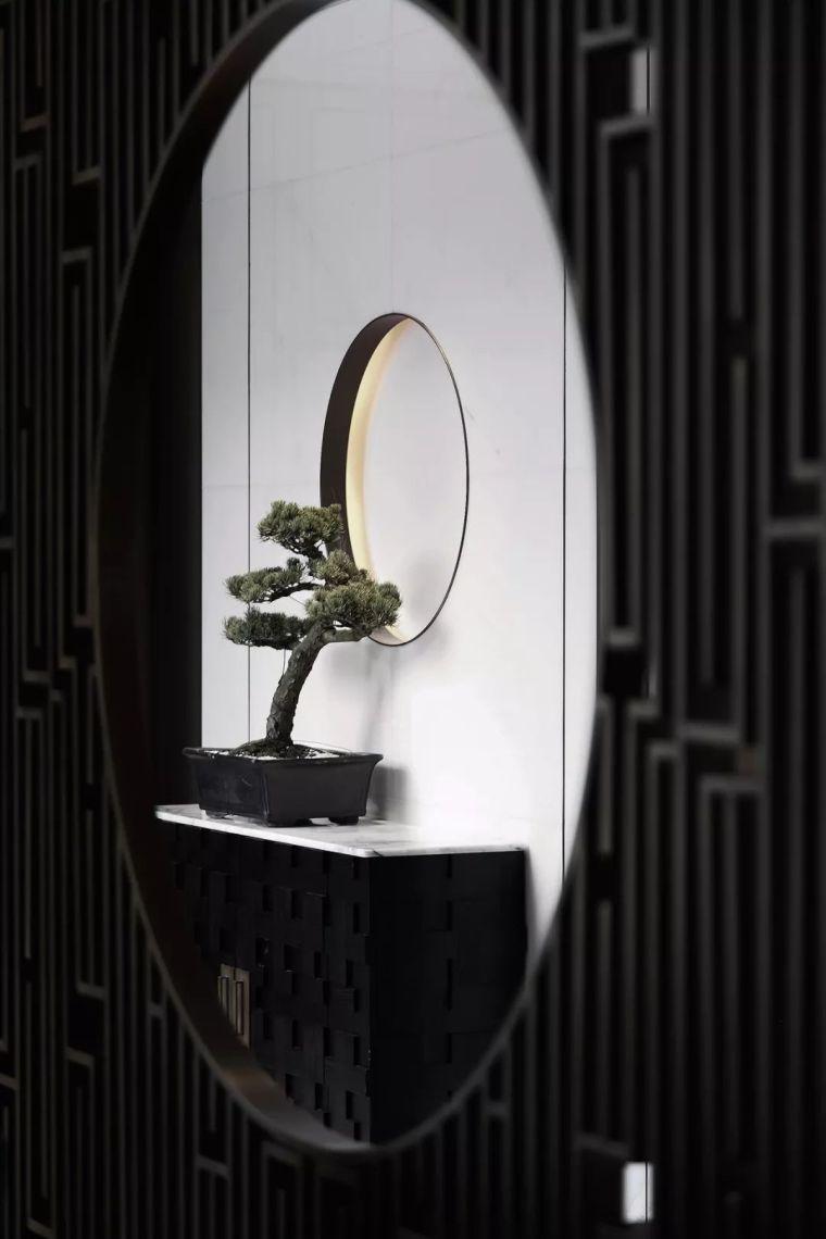 质朴材质也能构建空间气质,顶级别墅样板间设计