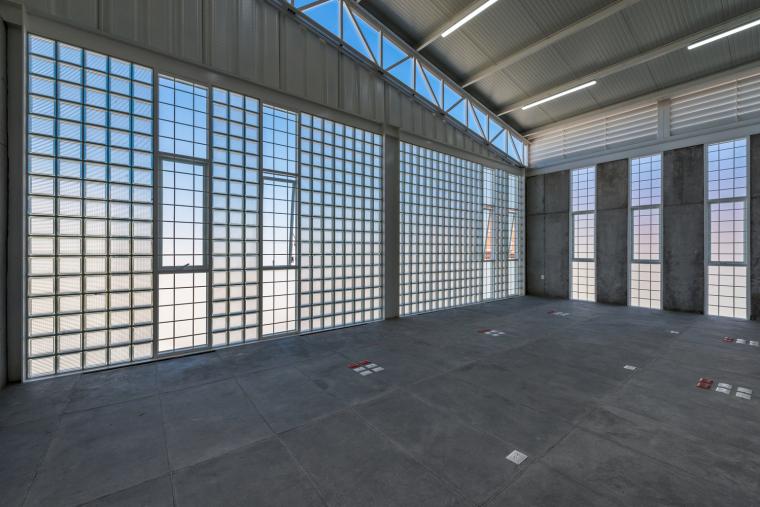墨西哥服务钢铁Xray工厂建筑-7
