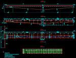 [知名大院]单线(37.5+60+37.5)m变高度连续梁30米跨等高度连续梁下穿高铁桥梁图纸  189张