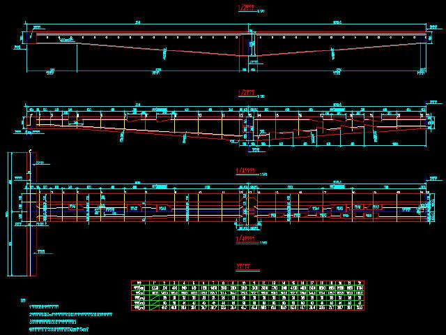 [知名大院]单线(37.5+60+37.5)m变高度连续梁30米跨等高度连续梁下穿高铁桥梁图纸189张