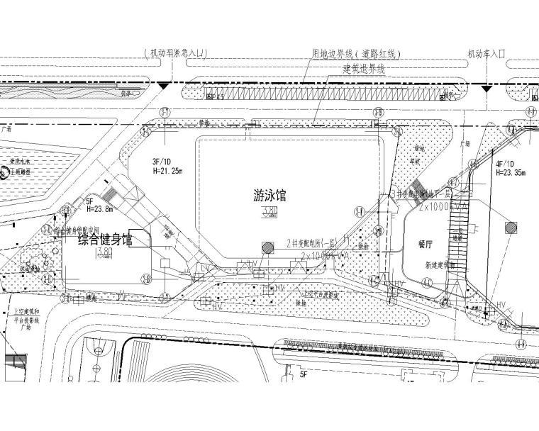 [江苏]某奥体中心体育场强电图纸_2