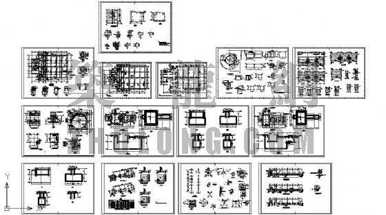厂房设备基础结构图