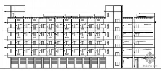 [广西]某立体车库建筑施工图