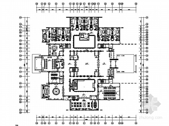 [苏州]现代苏式风格会议酒店设计方案
