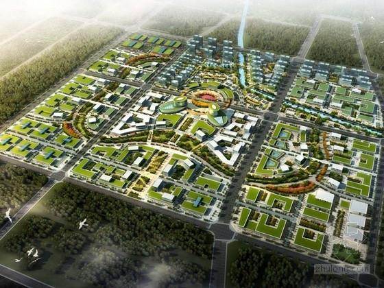 [安徽]现代风格产业园区规划及单体设计方案文本