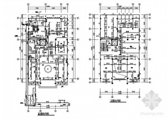 某六层建筑消防自动喷淋系统全套图纸