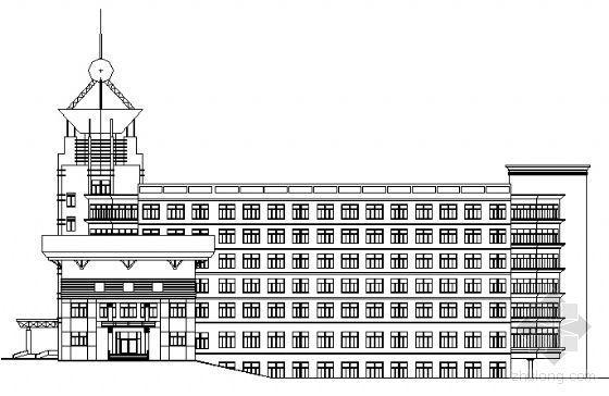 某大学六层报告厅建筑施工图
