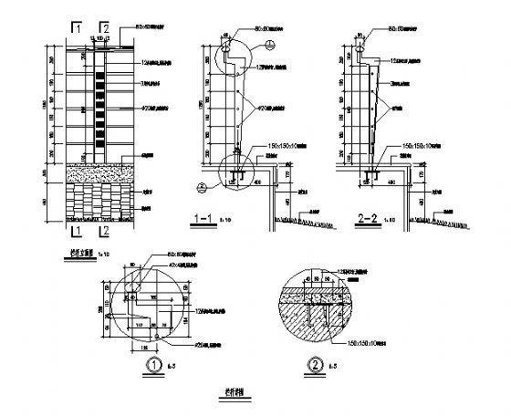 栏杆详图1-3