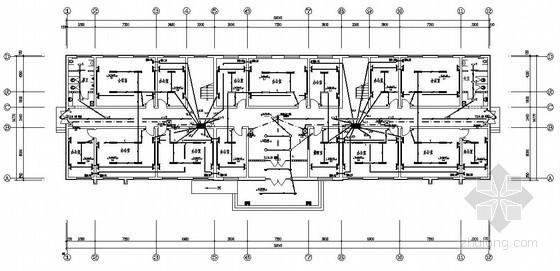 某公司三层办公楼电气施工图纸