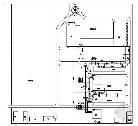 某药厂室外热力管网设计图
