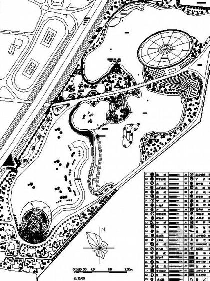 [大连]滨水生态园旅游规划设计施工图