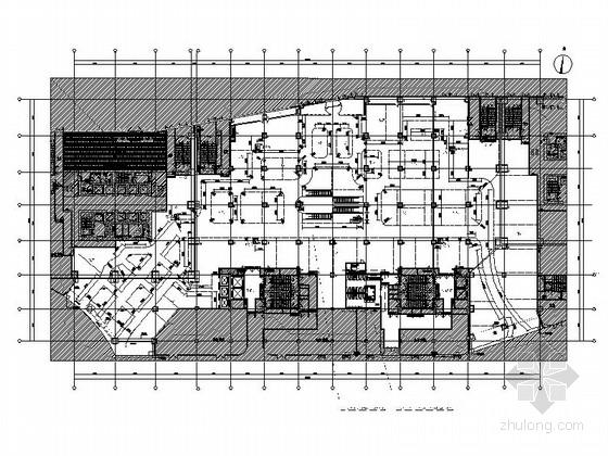[北京]超规范全国连锁百货商场室内设计CAD施工图