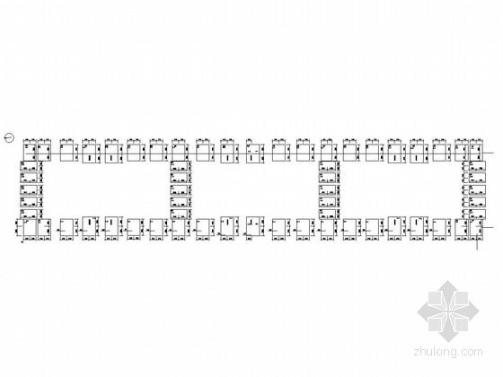 单层排架结构仓库结构施工图(含建施、审查意见书)
