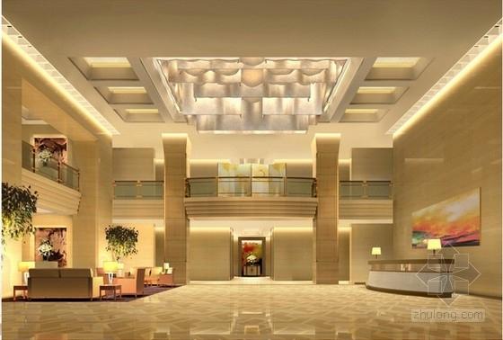 [上海]商業中心辦公樓室內設計方案