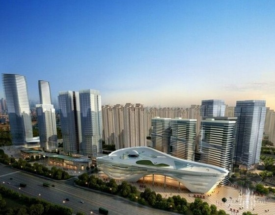 [江苏]大型高档城市综合体项目总承包工程招标文件(工程量清单 施工图纸 总投资1.2亿美元)