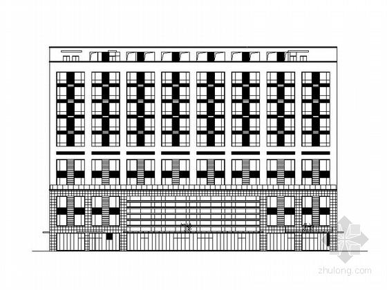 [江苏]十二层现代风格医院建筑施工图(2015年3月图纸)