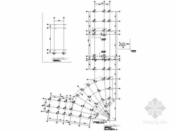 [广西]地上三层框架结构商业区结构施工图