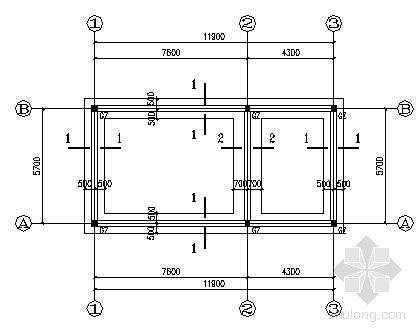砖混配电房结构图