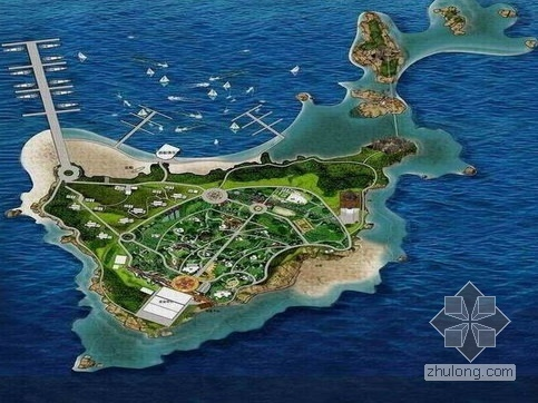 私人小岛景观设计方案