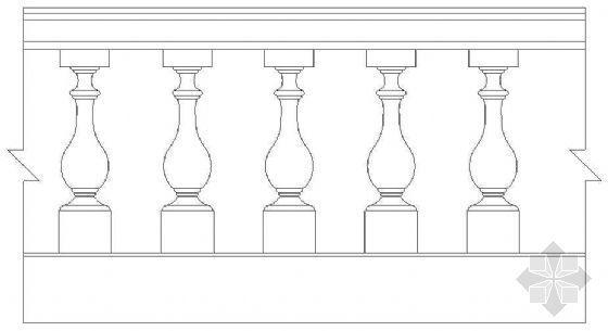 欧式栏杆详图40