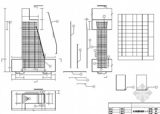 系杆拱桥下部台身钢筋构造节点详图设计