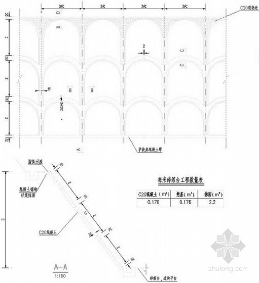 [云南]公路挖方边坡防护设计全套图纸