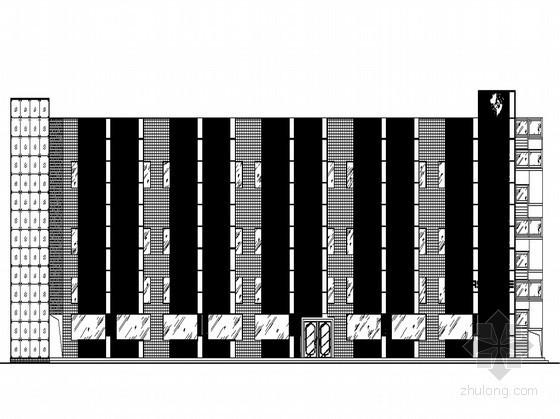 某保时捷4S店宿舍楼改造设计图(原创带效果图)