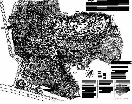 [广西]某山地小区景观总平及私家园林方案