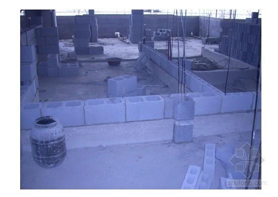 大孔径轻集料免抹灰砌块施工技术总结
