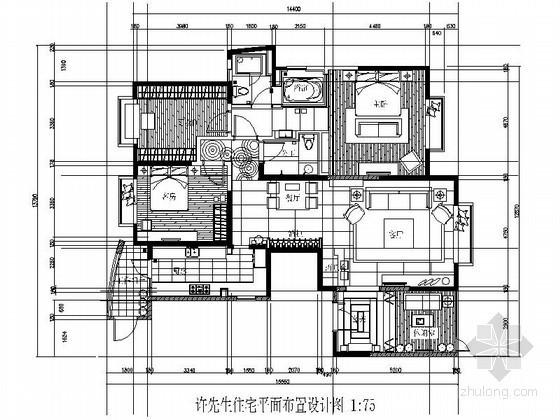 [东莞]三居室雅居装修图(含施工实景)