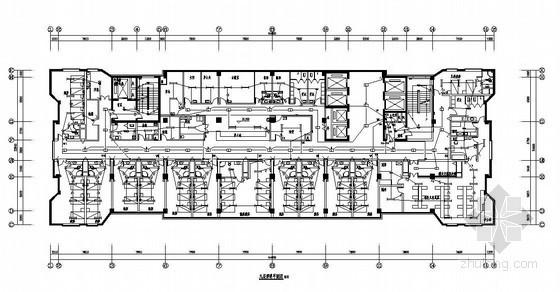 浙江某医院19层病房综合楼电气施工图