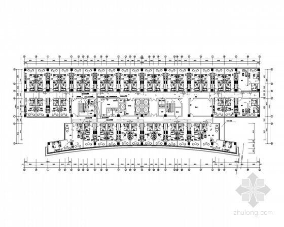 [山东]高层国际商务大厦强弱电全套施工图纸(含综合布线、安保防盗监控系统)