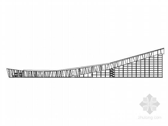 [北京]现代风格冰雪世界滑雪馆建筑施工图(知名设计院 含效果图)